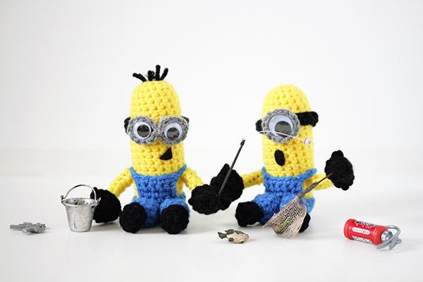 minions fishing